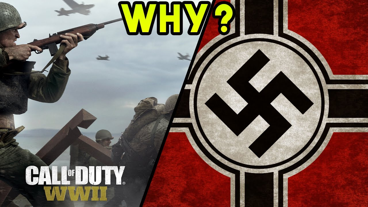 This Is Why The Swastika Symbol Is Not In Cod World War 2 Nazi