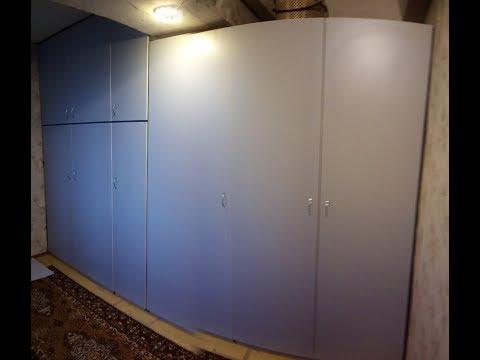 Встроенный шкаф своими руками.