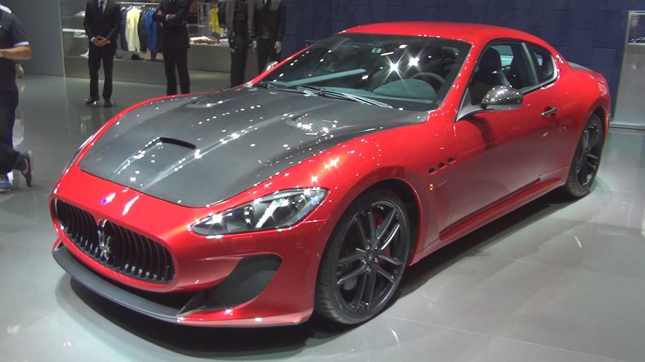 Maserati Granturismo Mc Stradale 2017 Exterior And Interior In You