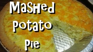 How to Make Mashed Potato Pie  Leftover Mashed Potatoes Recipe