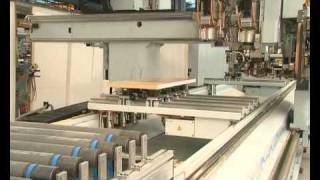 HOMAG BAZ523 kitchen worktops manufacturing