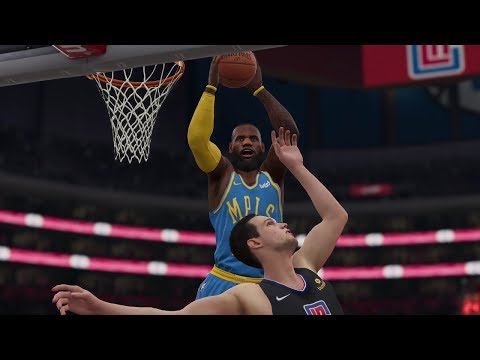 NBA LIVE 19 Gameplay Los Angeles Lakers vs Los Angeles Clippers – NBA LIVE 19 Xbox One