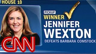 CNN projects first US House pick-up for the Democrats