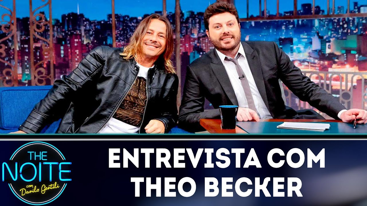 Entrevista com Theo Becker | The Noite (11/04/19)