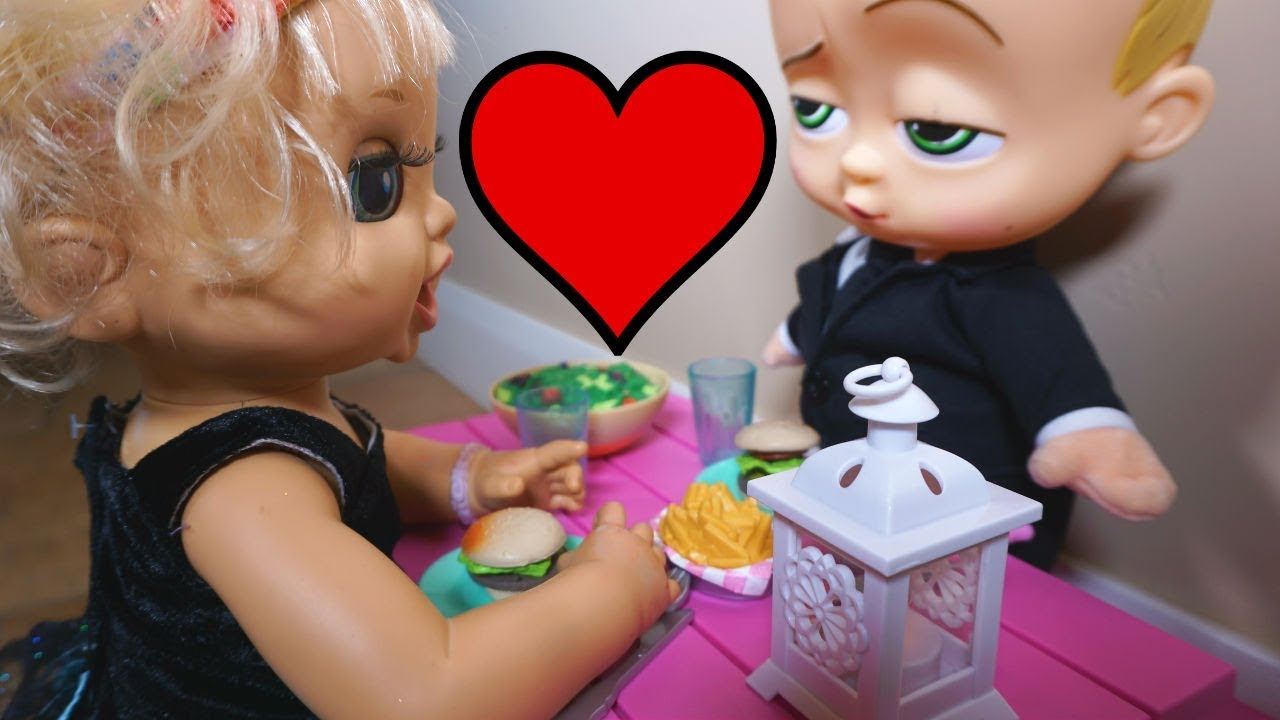 Baby Alive Ruby Snow Goes On A Date With Boss Baby Baby