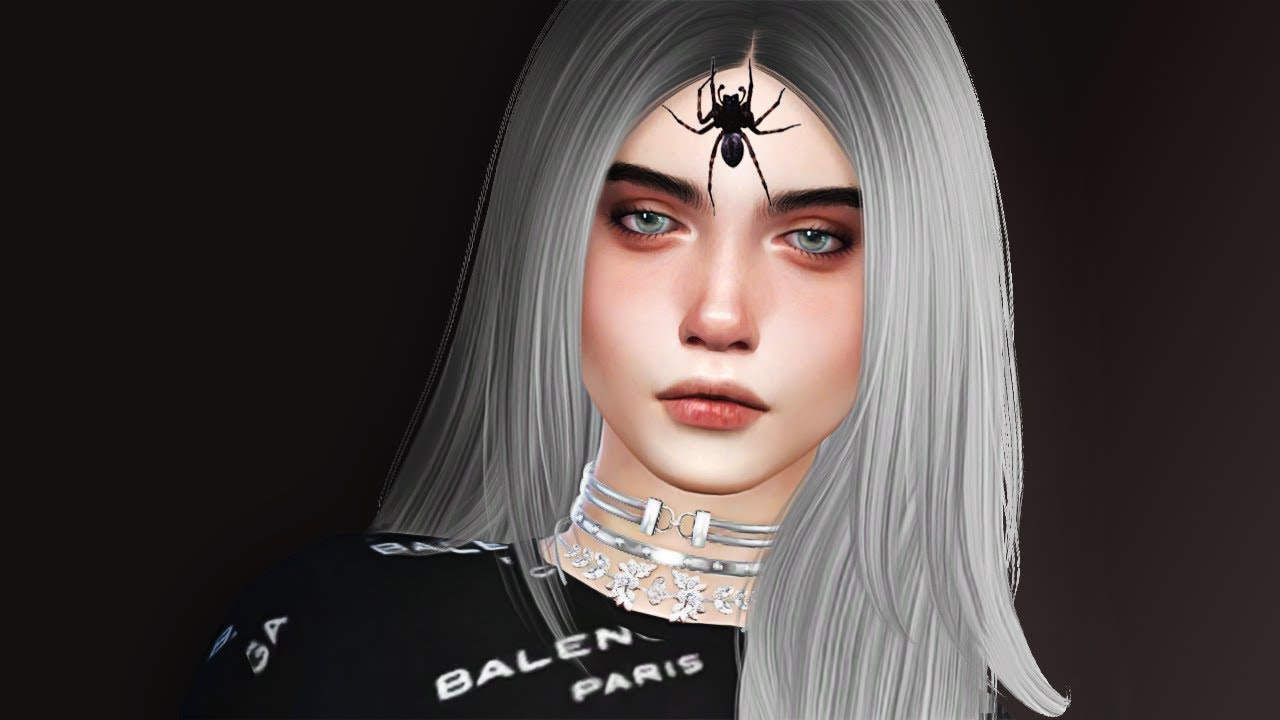 Billie Eilish  Cc List  Download  Celeb Cas  The Sims