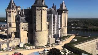 Restauration du Chateau de Saumur