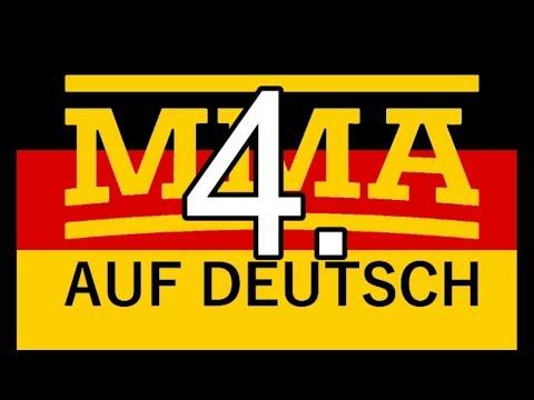 MMA auf Deutsch ´4 - Conor McGregor(Bellator Update), Bisping, Woodley-Diaz, Holm-Cyborg etc...