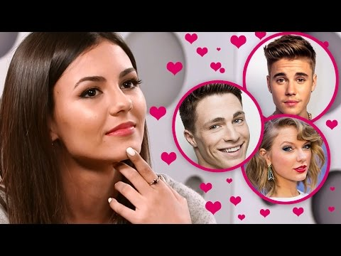 victoria justice hacks celebrity dating profiles