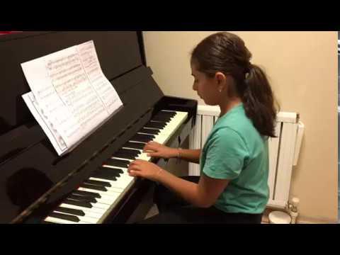 Acar Sanat Akademi Piyano Öğrencimiz İlke