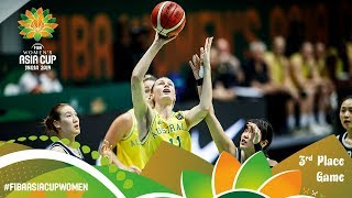 Australia v Korea - Full 3rd Place Game - FIBA Women's Asia Cup 2019