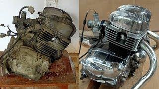 Honda CD125 Benly Engine Restoration
