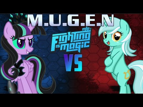 Mugen Fighting Is Magic Twivine Sparkle VS Lyra Heartstrings