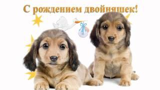 Видео открытка: C рождением двойняшек!