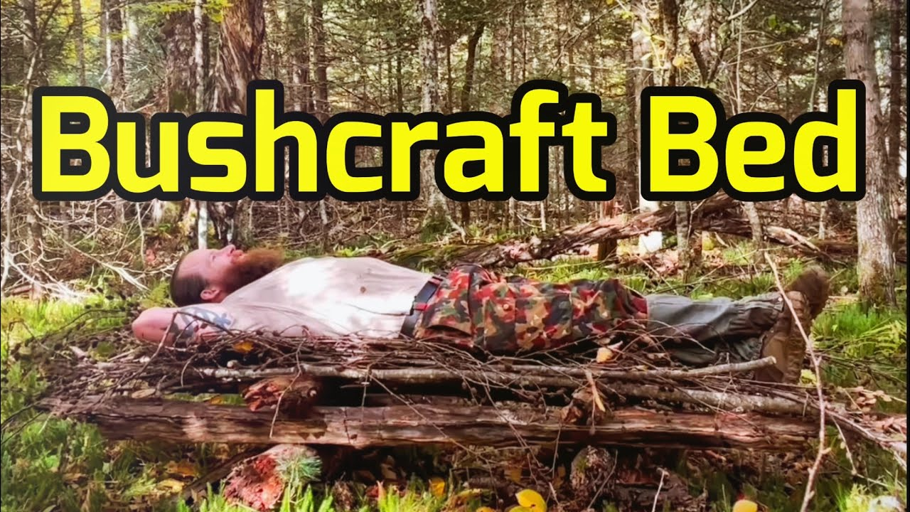 BUSHCRAFT BED Sleep BETTER in the Woods