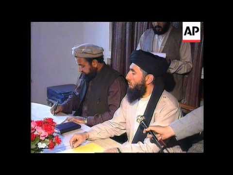 Afghanistan - Arrival Mestiri To Broker Peace