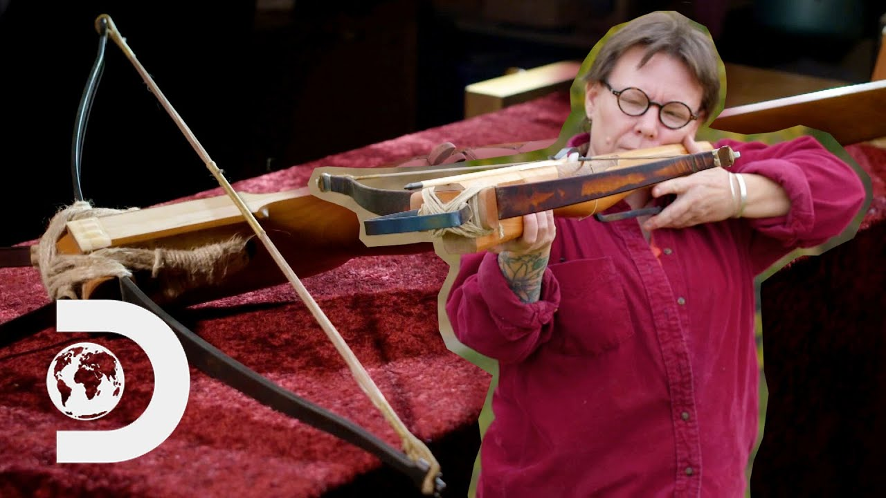 How To Make An Authentic Crossbow From Scratch | History In The Making