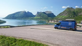 Wir fahren zum Nordkap!・Senja in Norwegen mit dem Opel Camper・V2og #60