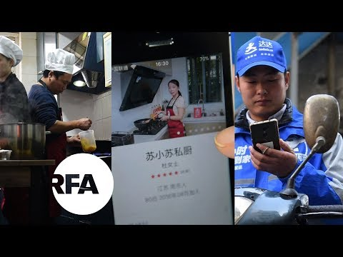 App Delivery Boom Shakes up China's Food Sector | Radio Free Asia (RFA)