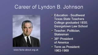 President Lyndon B Johnson Biography