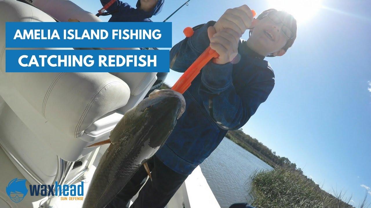 Amelia island fishing catching redfish youtube for Amelia island fishing report