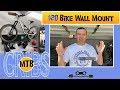 MTB CRIBS | $20 DIY Bike Wall Mount