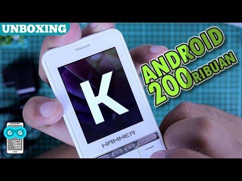 Serius Ada Android RESMI 250-ribuan? Unboxing & Hands-on Advan Hammer CT1
