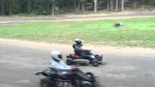 Back Yard Go Kart Track Go