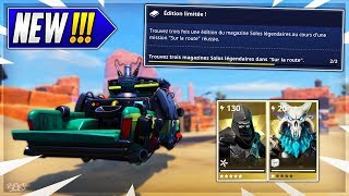 Fortnite Tuto: Find Legendary Solo Magazines on Saving the World! - ( Limited Edition)