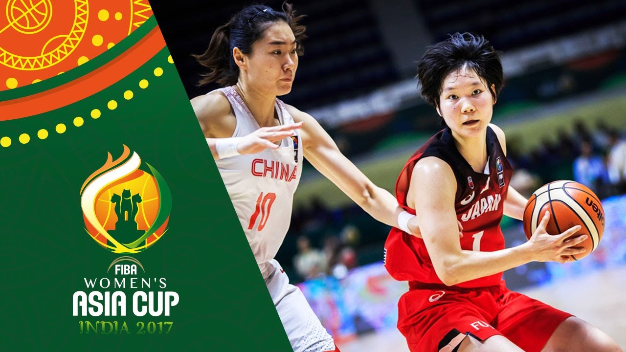 China v Japan - Highlights - Semi-Finals - FIBA Women's Asia Cup 2017