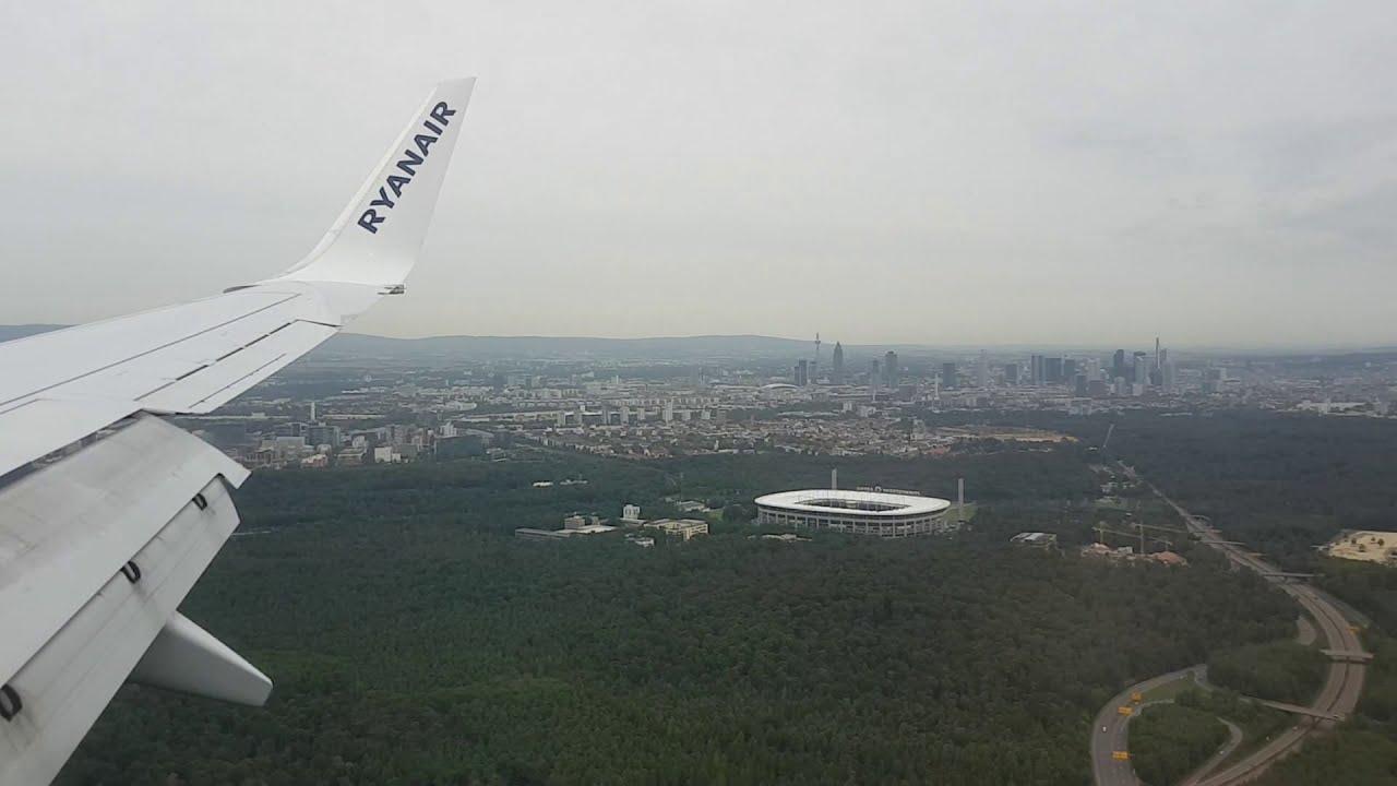 Landung Frankfurt Flughafen