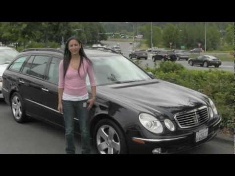 Virtual Video Tour of a 2004 Mercedes Benz E500 Wagon from Chaplins Auto Group