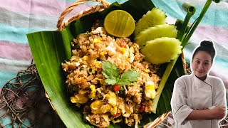 Easy To Cook •SPECIAL SHRIMP PASTE FRIED RICE •simple and tasty • Thai Chef Food