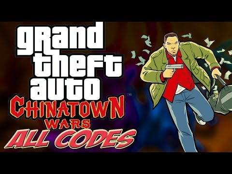 GTA Chinatown Wars - ALL CHEATS + Demonstration [Android/iOS/PSP/DS]