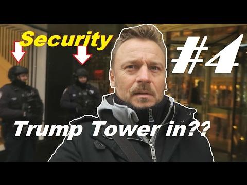 VLOG #4: BIJ TRUMP OP BEZOEK IN NEW YORK