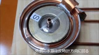 20150129水銀を用いた単極誘導モーター