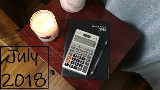 BUDGET WITH ME - July 2018 | Jennifer Witherspoon