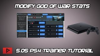 [How To] Edit God of War Stats On 5.05 PS4 Using Tylermods PS4 Trainer
