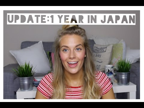 Update: 1 Year in Japan