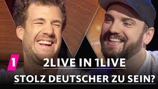 Baixar 2LIVE in 1LIVE - Bist du stolz, Deutscher zu sein?  | 14/2 | Luke Mockridge & Ingmar Stadelmann
