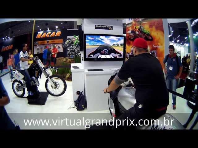 Simulador MotoGP e Cross MOBIL - Salão 2 Rodas [EDIT] HD