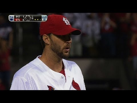 Wainwright's gem sends Cards to NLCS