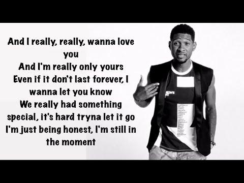 Usher - Crash ( Lyrics )