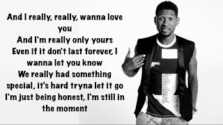 Usher - Crash (Official Lyrics)