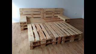 VENDA.work  Bed made from pallets