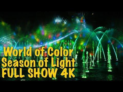World of Color Season of Light FULL SHOW 2017