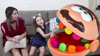 Jose Play-Doh Dentista Gigante comilão com ( presente Surpresa ) VALENTINA