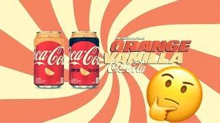 Best Way to Drink Orange Vanilla Coka Cola | FOOD REVIEW: NEW COCA COLA!