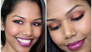 Berry tone makeup (Full face tutorial) Thumbnail