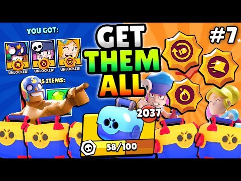 CRAZY BOXES & BROKEN POWERS! GEMMING NEW PIPER, PENNY & PRIMO STAR POWERS IN BRAWL STARS!